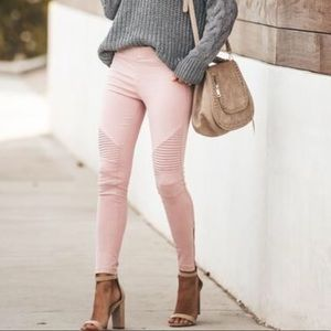 VICI Collection Piper jeggings in pink